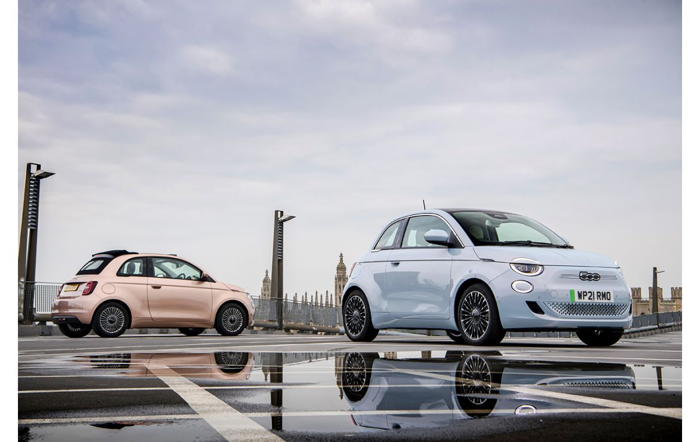 """Nowy Fiat 500 zwycięża w kategorii """"Mały Samochód Roku"""" konkursu News UK Motor Awards"""